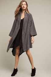 Anthropologie Ingleside Cardigan Dark Grey
