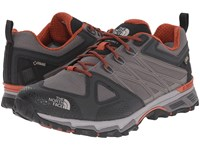 The North Face Ultra Hike Ii Gtx Dark Gull Grey Arabian Spice Men's Shoes Gray