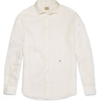 Massimo Alba Linen Shirt Off White