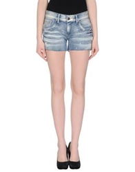 Andy Warhol By Pepe Jeans Denim Shorts Blue
