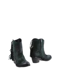 Geste Proposition Ankle Boots Dark Brown
