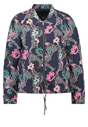 Banana Republic Summer Jacket Preppy Navy Multicoloured