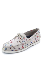 Sperry X Gray Malin A O 2 Eye Boat Shoes Sand