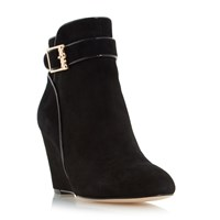 Biba Olivier Wedge Ankle Boots Black