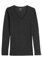Majestic Cotton Cashmere Long Sleeved Top Gr. 1