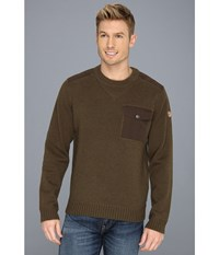 Fjall Raven Torp Sweater Dark Olive Men's Sweater