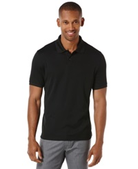 Perry Ellis Macy's Exclusive Two Button Polo Black