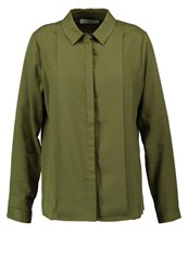 Ivy And Oak Shirt Olive Green Khaki