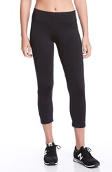 Karen Kane Women's Mesh Panel Active Crop Pants