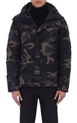 Canada Goose Camouflage Hooded Parka Black