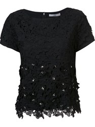 Zac Posen 'Waldorf' Blouse Black