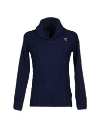 Raw Correct Line By G Star Knitwear Jumpers Men Dark Blue