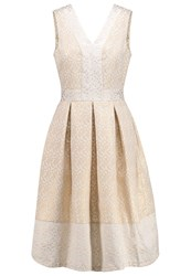 Closet Cocktail Dress Party Dress Champagne Off White