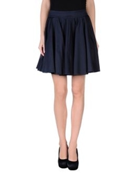 Surface To Air Mini Skirts Dark Blue