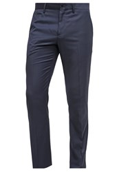 Sisley Suit Trousers Dark Blue