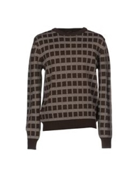 Le Mont St Michel Sweaters Dark Brown