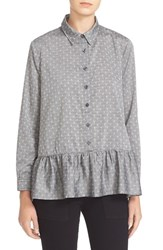The Great Women's Great. 'The Drop Ruffle Oxford' Cotton Shirt