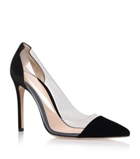 Gianvito Rossi Calabria Suede Court Female Black