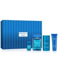 Perry Ellis 4 Pc. Aqua Gift Set No Color