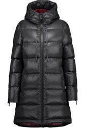 Belstaff Bancroft Quilted Shell Down Hooded Coat Black