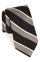 Men's Todd Snyder White Label Stripe Cotton And Silk Tie