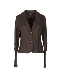 Diana Gallesi Blazers Dark Brown