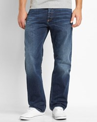 Carhartt Faded Dark Blue Otero Marlow Straight Fit Jeans