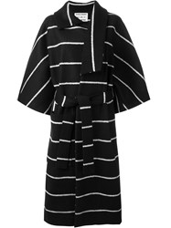Henrik Vibskov 'Cape' Coat Black
