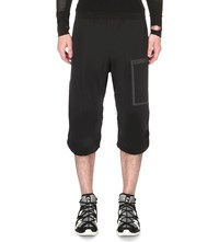 Y 3 Sport Approach Shell Cropped Trousers Black