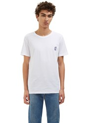 Veni Vedi Vici Ecusson Immeuble Crew Neck T Shirt White