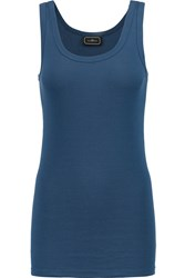 By Malene Birger Dawn Stretch Jersey Tank Blue