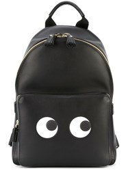 Anya Hindmarch Mini 'Eyes' Backpack Black