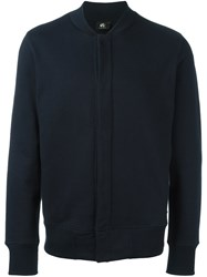 Paul Smith Ps By Buttoned Lightweight Jacket Blue