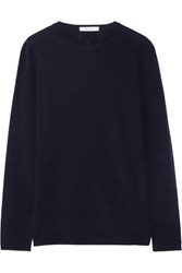 Max Mara Wool And Cashmere Blend Sweater Midnight Blue