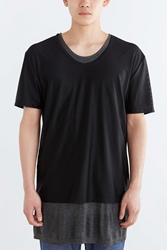 Shades Of Grey By Micah Cohen Mesh Layer Tee Black