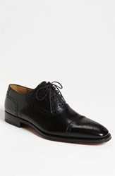 Men's Magnanni 'Santiago' Cap Toe Oxford Black