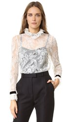 Philosophy Di Lorenzo Serafini Lace Blouse White