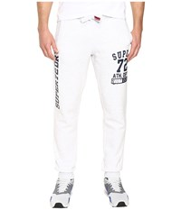 Superdry Trackster Jogger Ice Marl Men's Workout White
