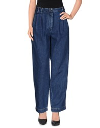 Mauro Grifoni Denim Denim Trousers Women Blue