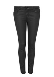 Hallhuber Coated Skinny Jeans Black