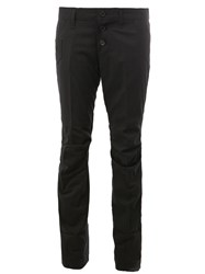 Christopher Nemeth Tailored Skinny Trousers Black