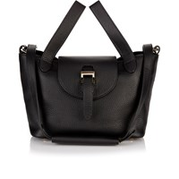 Meli Melo Meli Melo Mini Thela Tote Bag Black