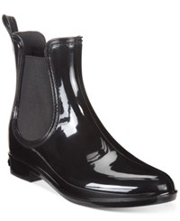 Inc International Concepts Women's Rubiee Chelsea Rain Booties Only At Macy's Women's Shoes Black