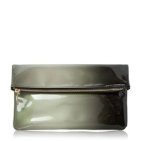 Head Over Heels Balley Ombre Fold Over Clutch Black