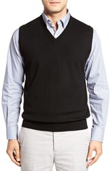 Peter Millar Men's Merino Wool V Neck Vest