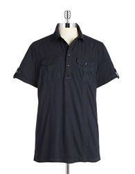 Dkny Pocket Polo Blue