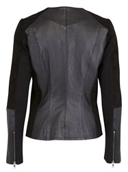 Ichi Quilted Leather Jacket