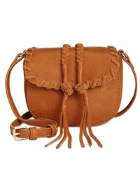 Inc International Concepts Callie Saddle Bag Only At Macy's Cognac