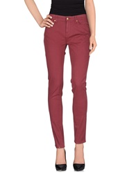 Tommy Hilfiger Casual Pants Maroon