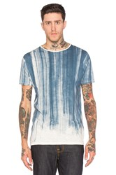 Nudie Jeans Loose Water Flow Tee Blue
